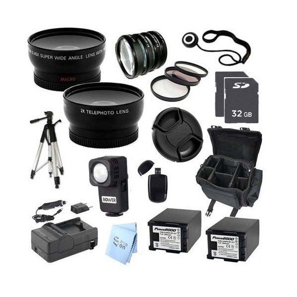 ULTRA PROFESSIONAL ACCESSORY PACKAGE: for JVC GC-PX100 Full HD Everio Camc