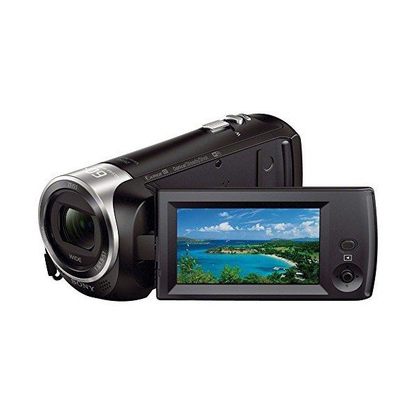 Sony Handycam HDR-CX440 8GB Wi-Fi 1080p HD Video Camera Camcorder with 64G
