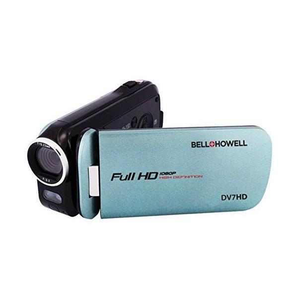 BELL+HOWELL DV7HD-BL 16.0 Megapixel Slice II DV7HD Ultraslim 1080p HD Camc