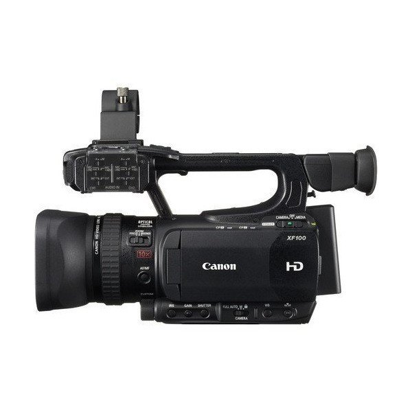 Canon XF100 Professional Camcorder with 10x HD Video lens, Compact Flash (