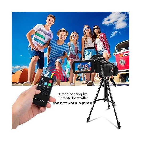 Digital Camcorders Full HD 1080P 30FPS 24MP Video Camera 16X Digital Zoom