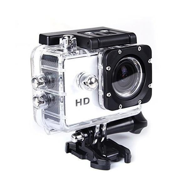 Hanbaili 12MP 1080P Helmet Sports DV Video Car Cam Full HD DV Action Water