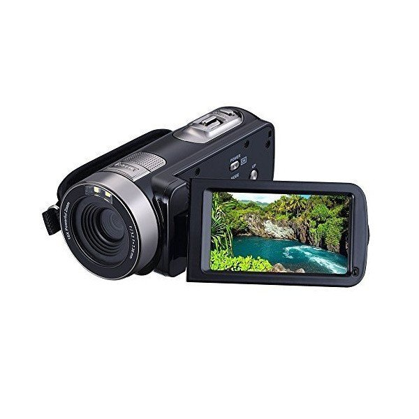 "KINGEAR PL002 2.7"" LCD Screen Digital Video Camcorder Night Vision 24MP Ca"