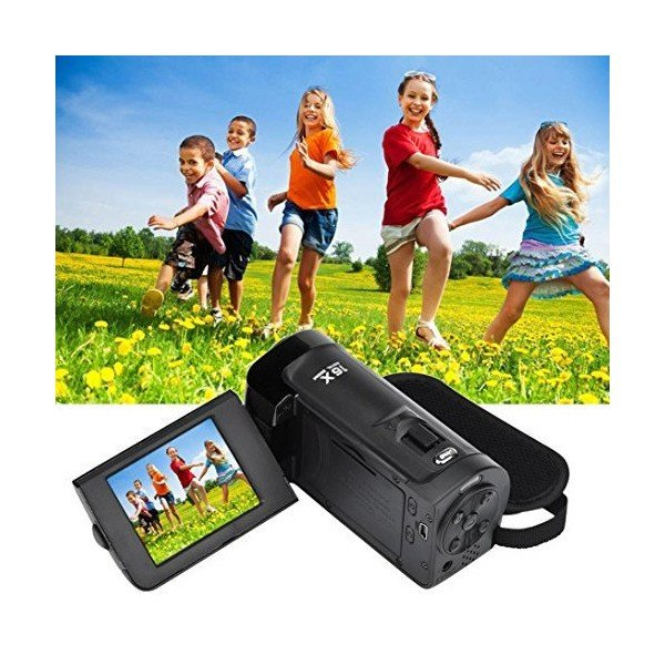 Nacome HD 1080P 16MP 16X Digital Zoom Video Camcorder Camera With 2.7 Inch