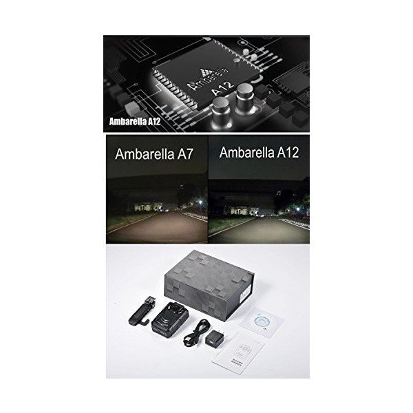 Pomiacam HD 1080P GPS WIFI Body Worn Camera,Police Body Camera,Pocket Vide