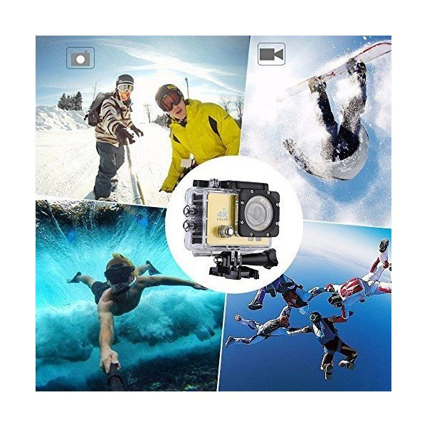 """2"""" LCD Sport Camera with 30m Waterproof Case, FPV Video Output, Flash Ligh"""