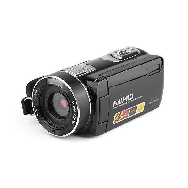 heaven2017 Portable Mini HD Camera Anti-shake Beauty Face Face Capture TFT