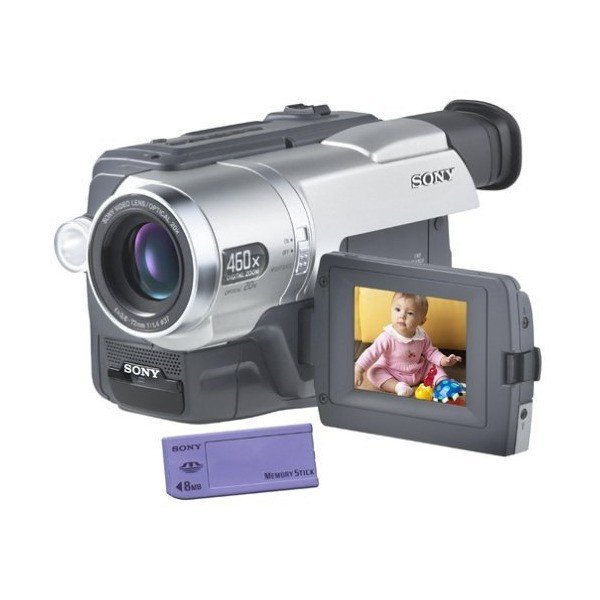 Sony CCDTRV308 Hi8 Camcorder with 2.5LCD and Video Light (Certified Refurb