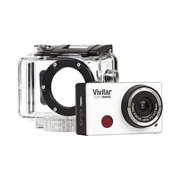 Vivitar DVR794HD 1080p HD Wi-Fi Waterproof Action Video Camera Camcorder S