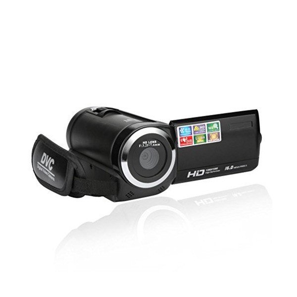 Sunbibe 2.7 Inch TFT 16MP 16X Digital Zoom HD DV Video Camcorder Camera (B