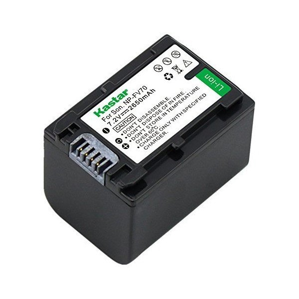 Kastar NPFV70 Battery for Sony NP-FV70 and Sony DCR-SX22 DCR-SX33 DCR-SX34