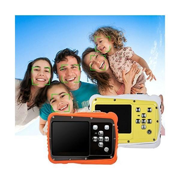 Kids Camera,Hangang Waterproof Underwater Digital Camera 12MP 720P Shoot D