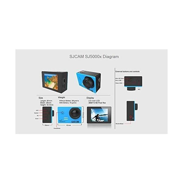 SJCAM SJ5000X Elite 4K Wifi Action Camera FHD 1080P Sports Waterproof DV (