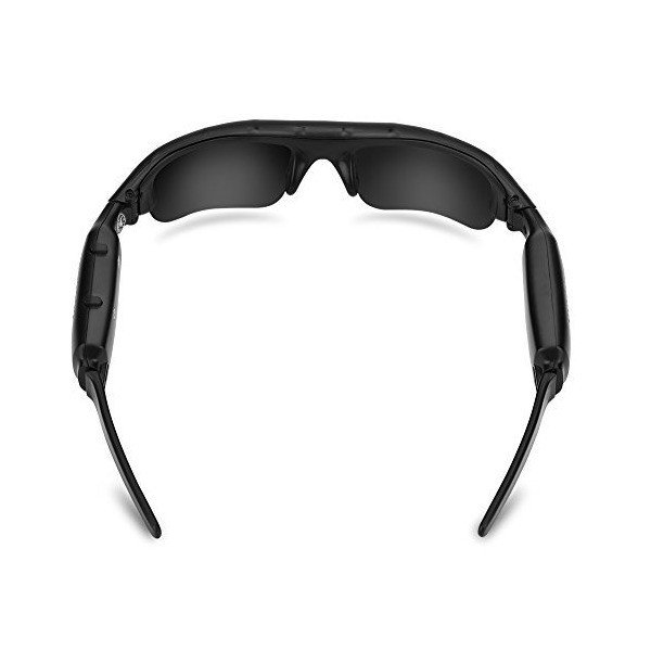 Acouto M-JEPG HD 1080P USB Rechargeable Glasses Camera for Outdoor Activit