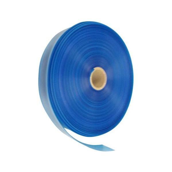 灌水 散水 潅水用 セフティ灌水チューブ  幅5cmx両面孔x青厚さ0.13mmx長さ200m ピッチ30cm