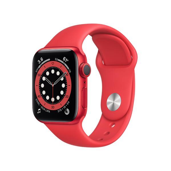 新品AppleWatchSeries6GPSモデル40mmM00A3J/AレッドRED腕時計アップルウォッチ