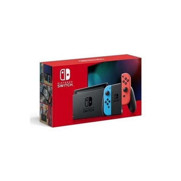 新品NintendoSwitchHAD-S-KABAA ネオンブルー・ネオンレッド 任天堂スイッチ本体