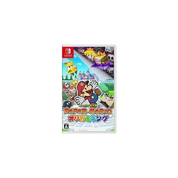 新品ペーパーマリオオリガミキング NintendoSwitch 任天堂スイッチソフト