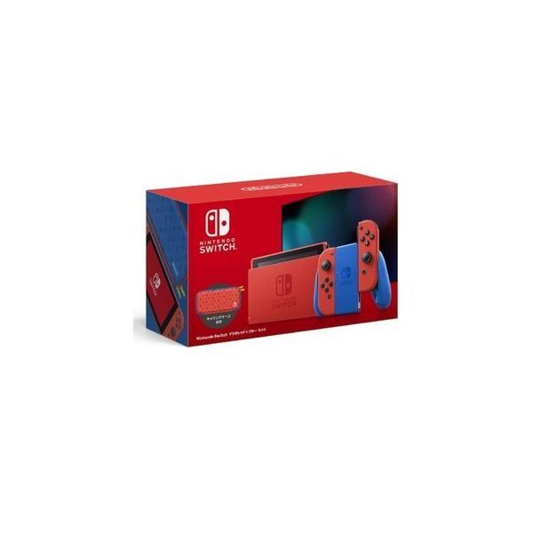 新品NintendoSwitchマリオレッド×ブルーセット任天堂スイッチHAD-S-RAAAF本体