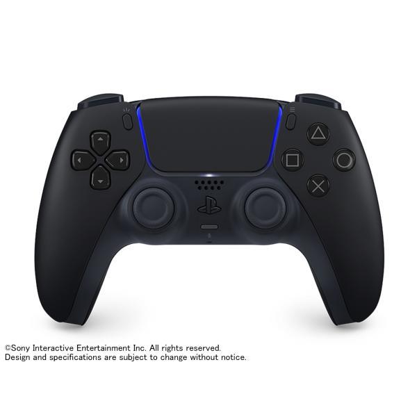 新品 PlayStation5 PS5 ワイヤレスコントローラー  DualSense ミッドナイト ブラック [CFI-ZCT1J01]