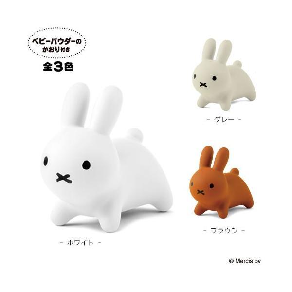 ブルーナボンボンミニ ホワイト ブラウン グレー 生後6ヶ月〜 かおり付き おもちゃ ミッフィー 白 待合室 |nobumaru|05