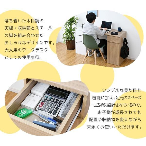 コンパクトデスク 幅90cm 学習机 シンプル 収納 引き出し パソコンデスク PCデスク 勉強机|noconocok2000|11