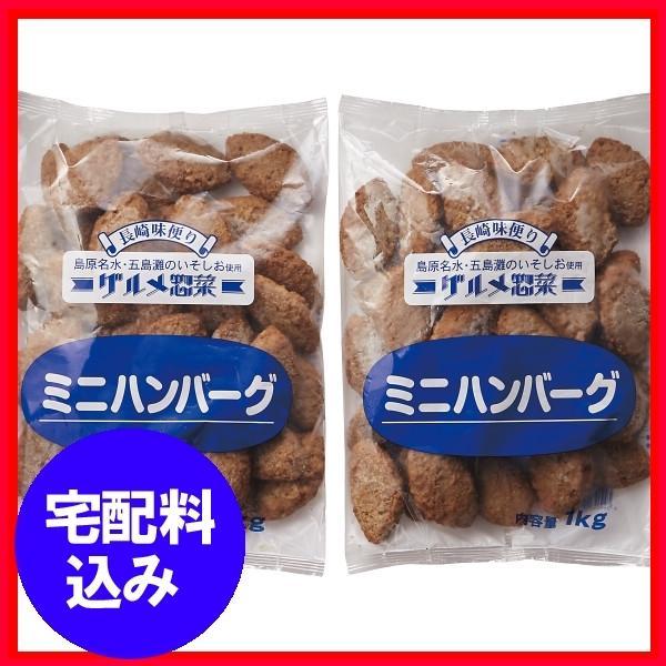 お中元 ギフト  業務用 ミニハンバーグ2kg 通販 1122-076
