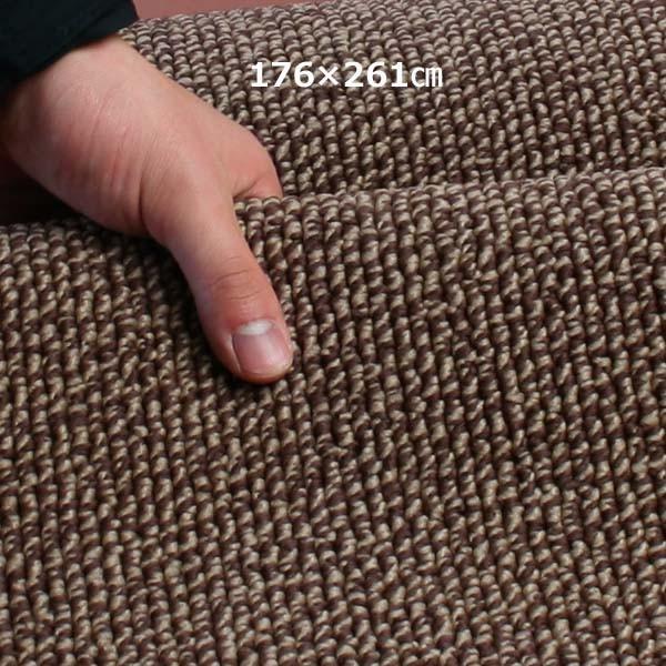 カーペット 3畳  防炎 防ダニ 床暖対応 日本製 長方形 厚手 絨毯 江戸間 三畳 おしゃれ 安い ホームルフレ|nodac|04