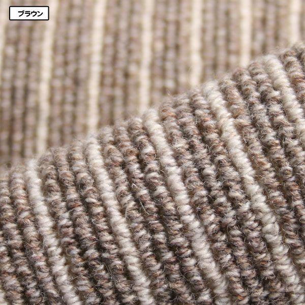 カーペット ラグマット 6畳  防炎 防ダニ ウール 床暖対応 日本製 長方形 厚手 絨毯 本間 六畳 おしゃれ 安い Hウールバレー|nodac|04