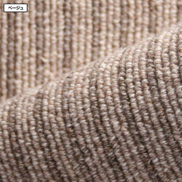 カーペット ラグマット 6畳  防炎 防ダニ ウール 床暖対応 日本製 長方形 厚手 絨毯 本間 六畳 おしゃれ 安い Hウールバレー|nodac|05