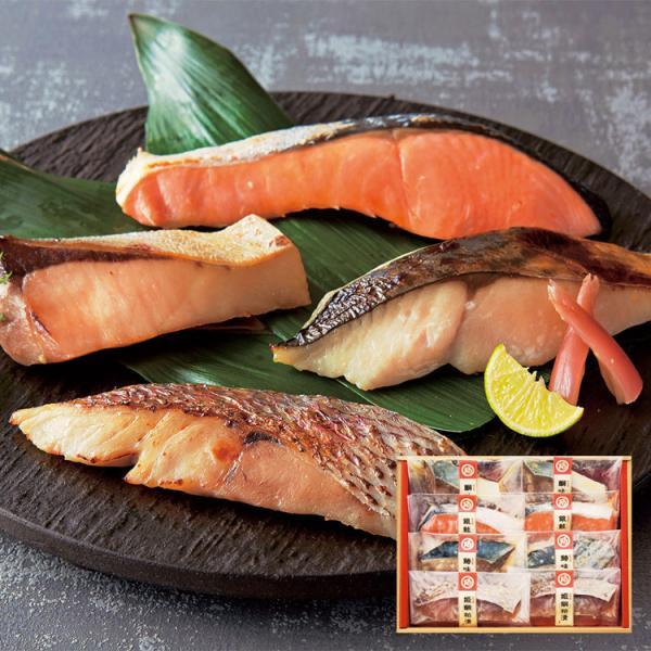送料無料 ギフト 海鮮 さば ぶり さけ たい 粕みそ漬け 阿藻の漬けうを「ATK-30」