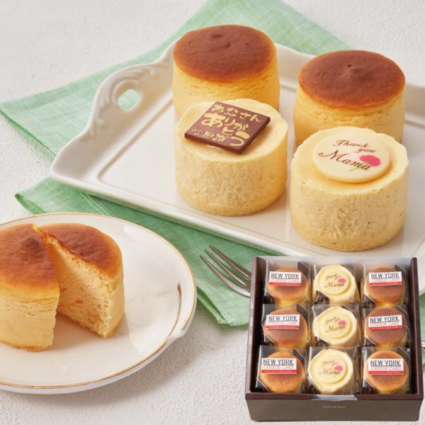 遅れてごめんね商品 母の日2021プレゼントスイーツ 「パティスリーナカシマ」チーズケーキセット「ND-32M-M」