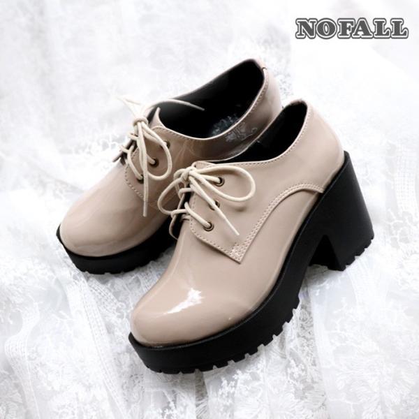 厚底 靴 おじ靴 シューズ レディース マニッシュ ブラウン グレー ホワイト ブラック SANGO sango サンゴ|nofall