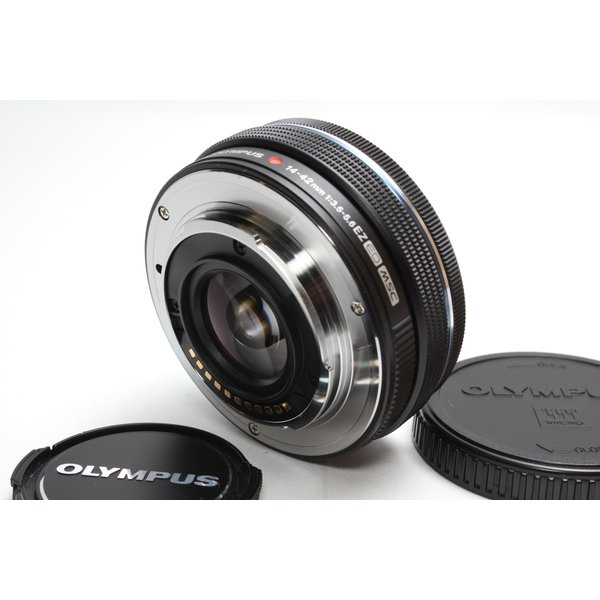 標準レンズ OLYMPUS オリンパス M.ZUIKO DIGITAL ED 14-42mm F3.5-5.6 EZ 電動ズームレンズ ブラック|nogi-camerayshop|02