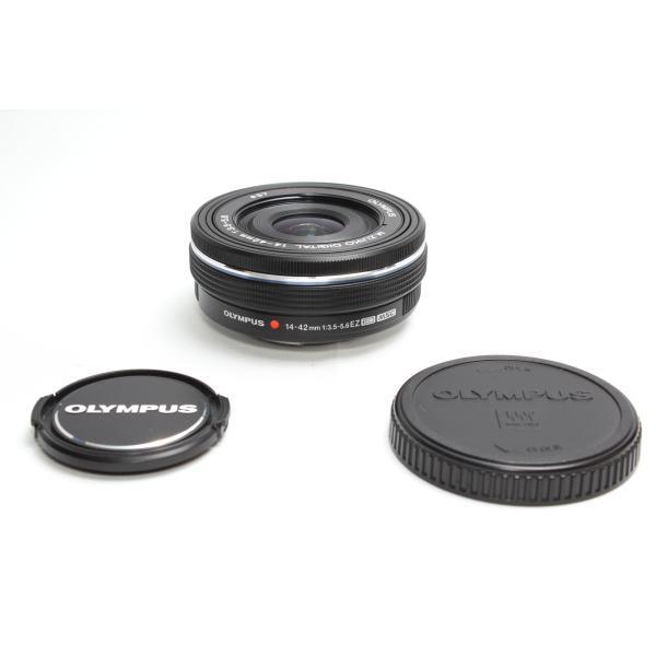 標準レンズ OLYMPUS オリンパス M.ZUIKO DIGITAL ED 14-42mm F3.5-5.6 EZ 電動ズームレンズ ブラック|nogi-camerayshop|03