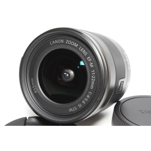 広角レンズ Canon キヤノン EF-M 11-22mm F4-5.6 IS STM レンズ