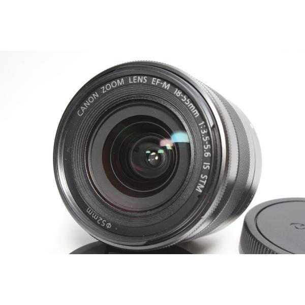 標準レンズ Canon キヤノン EF-M18-55mm F3.5-5.6 IS STM レンズ ミラーレス用