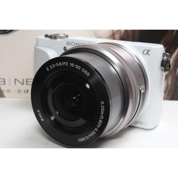 ミラーレス一眼 SONY ソニー α NEX-3N パワーズームレンズキット ホワイト 新品SDカード付き|nogi-camerayshop|03