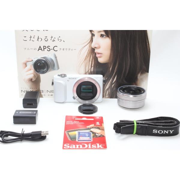 ミラーレス一眼 SONY ソニー α NEX-3N パワーズームレンズキット ホワイト 新品SDカード付き|nogi-camerayshop|04