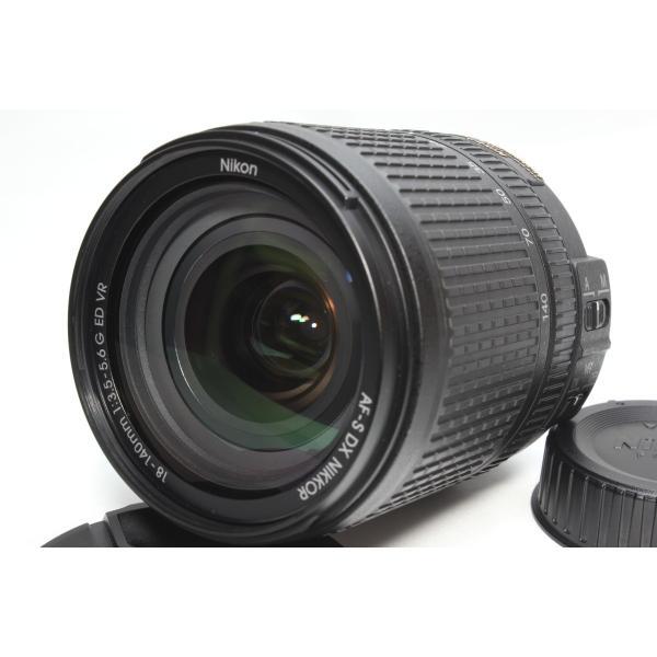 高倍率レンズ Nikon ニコン AF-S DX NIKKOR 18-140mm f/3.5-5.6G ED VR レンズ