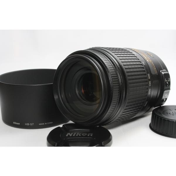望遠レンズ Nikon ニコン AF-S DX NIKKOR 55-300mm f/4.5-5.6G ED VR レンズ 手ブレ補正 交換レンズ 一眼レフ