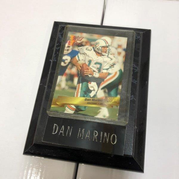 訳あり特価 NFL アメフト DAN MARINO ダンマリノ フォトプラーク プラーク カード A-1
