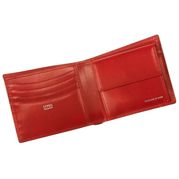 メンズ 財布 二つ折り 小銭入れあり キプリスコレクション リザード 日本製|noijapan|03