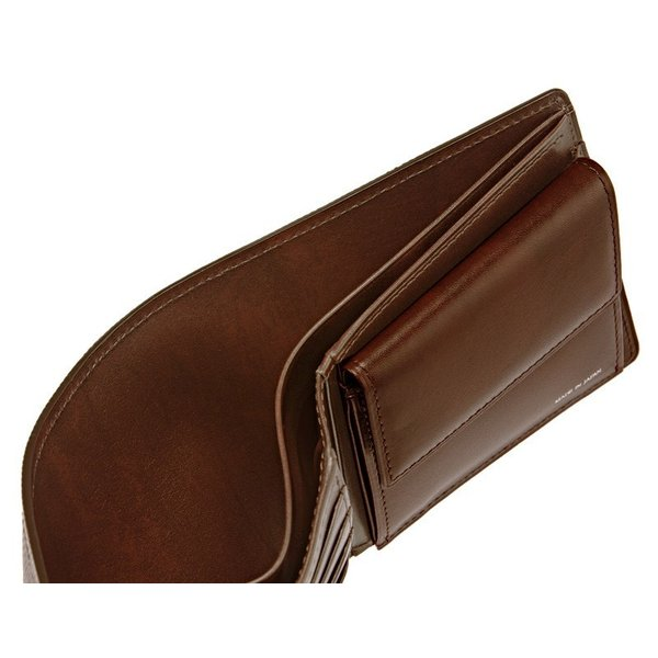 メンズ 財布 二つ折り 小銭入れあり キプリスコレクション リザード 日本製|noijapan|09