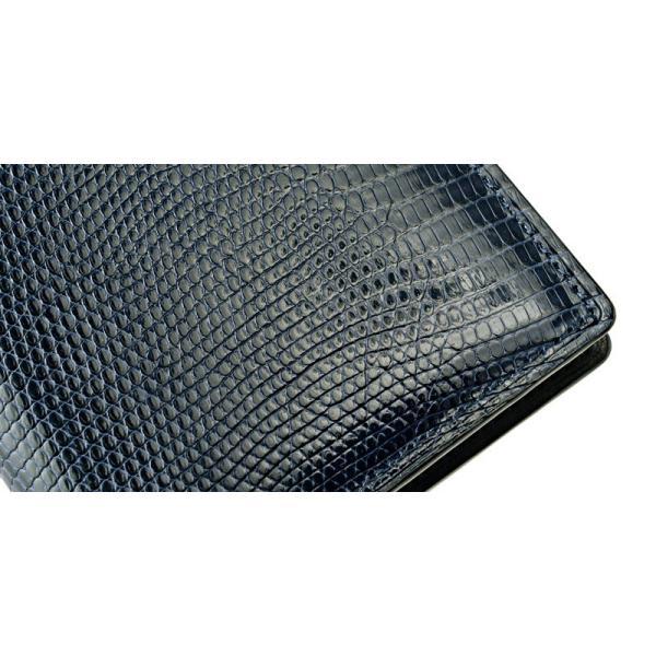 メンズ 財布 コンパクト札入 キプリスコレクション リザード 本革 使いやすい おしゃれ|noijapan|16