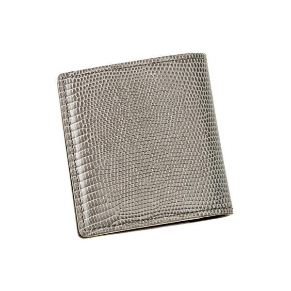 メンズ 財布 コンパクト札入 キプリスコレクション リザード 本革 使いやすい おしゃれ|noijapan|21