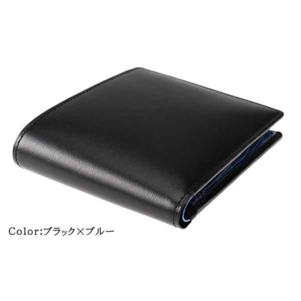メンズ 財布 二つ折り 小銭入れあり キプリスコレクション ボックスカーフ&リザード|noijapan|02