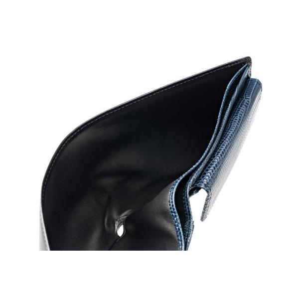 メンズ 財布 二つ折り 小銭入れあり キプリスコレクション ボックスカーフ&リザード|noijapan|04