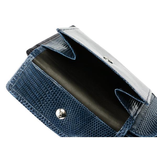 メンズ 財布 二つ折り 小銭入れあり キプリスコレクション ボックスカーフ&リザード|noijapan|05