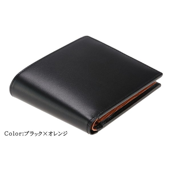 メンズ 財布 二つ折り 小銭入れあり キプリスコレクション ボックスカーフ&リザード|noijapan|06
